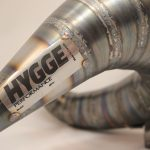 HYGGE Performance Yamaha YZ125 Handcrafted Cone Pipe Expansion Chamber Two stroke Exhaust