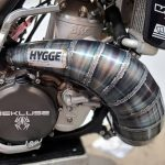 Hygge Performance BRC500 Woods MX Two Stroke Expansion Chamber Cone Pipe (1)
