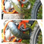 Hygge Performance KTM 300 high clearance expansion chamber