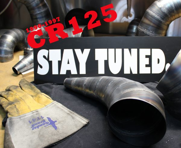 CR125 Hygge Performance Cone Pipe Expansion Chamber Square