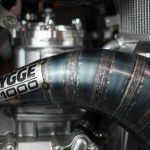 HYGGE Performance T1000 Expansion Chamber Cone Pipe CR250 2003 2004 Two Stroke Performance