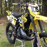 RM250 2004 to 2008 HYGGE PERFORMANCE TWO STROKE CONE PIPE 2
